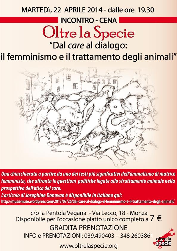 Dal care al dialogo: il femminismo e il trattamento degli animali