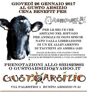 Busto Arsizio (VA) - Cena benefit per Agripunk @ Gusto Arsizio | Busto Arsizio | Lombardia | Italia