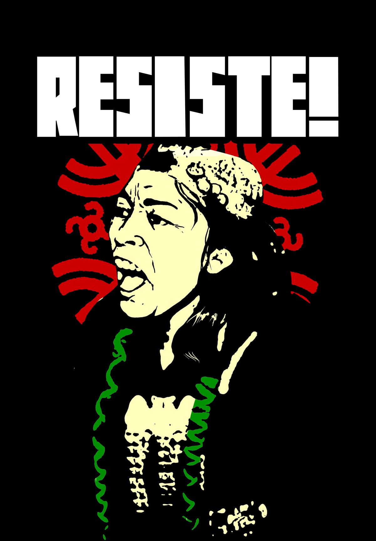 Presidio contro Benetton in solidarietà con il popolo Mapuche @ Negozio Benetton | Milano | Lombardia | Italia